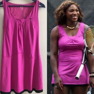 Nike fit dry Serena Williams pink  tennis dress
